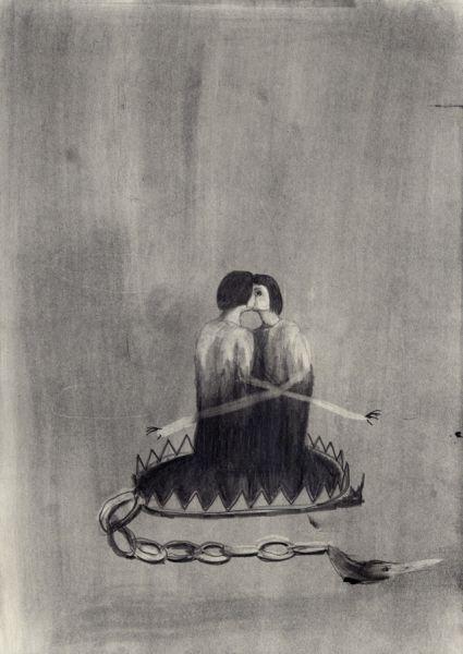 graphite on papier, 42 x 29,7cm  Emeli Theander