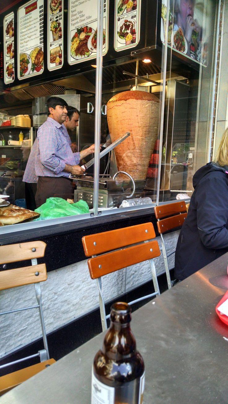 This is a monstrous Döner Kebab (#berlin) [2432x4320][OC] #foodporn #food #foodie #yummy #yum #foodgasm #nomnom #delicious #recipe