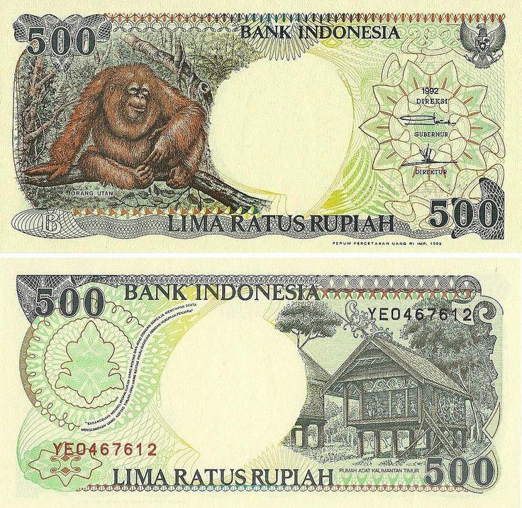 Indonesia - 500 Rupiah 1992