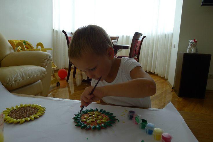 поделки из природного материала, осенние детские поделки, поделки с детьми…