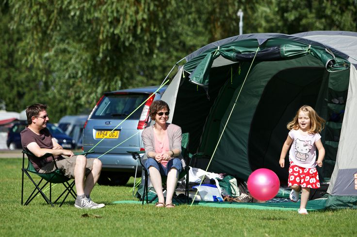Camping holiday in Northamptonshire at http://www.billingaquadrome.com