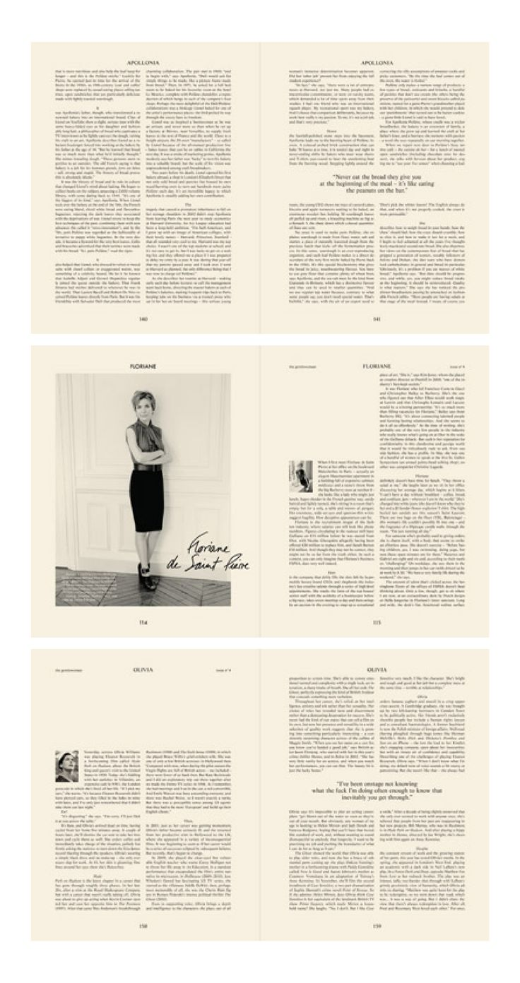 :: The Gentlewoman - Heavy content ::