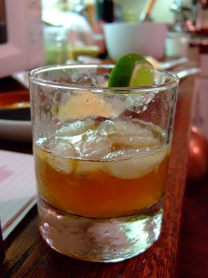 dark & stormy= my favorite:      sub in canton ginger liqueur for the ginger syrup  add a dusting of nutmeg... mmm