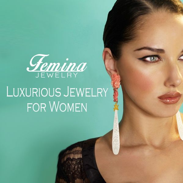 Today we are proud to launch FeminaJewelry.com, A luxurious online jewelry store with a vision of providing fine jewelry from independent designers from around the world. #feminajewelry #finejewelry #jewelry #gold #diamonds #Copenhagen #NewYork #Milan