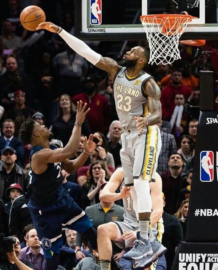 Lebron Getting Game Winning Block Then Game Winning Shot Against Jimmy Butler Lebron James Lakers Lebron James Cleveland Nba Lebron James