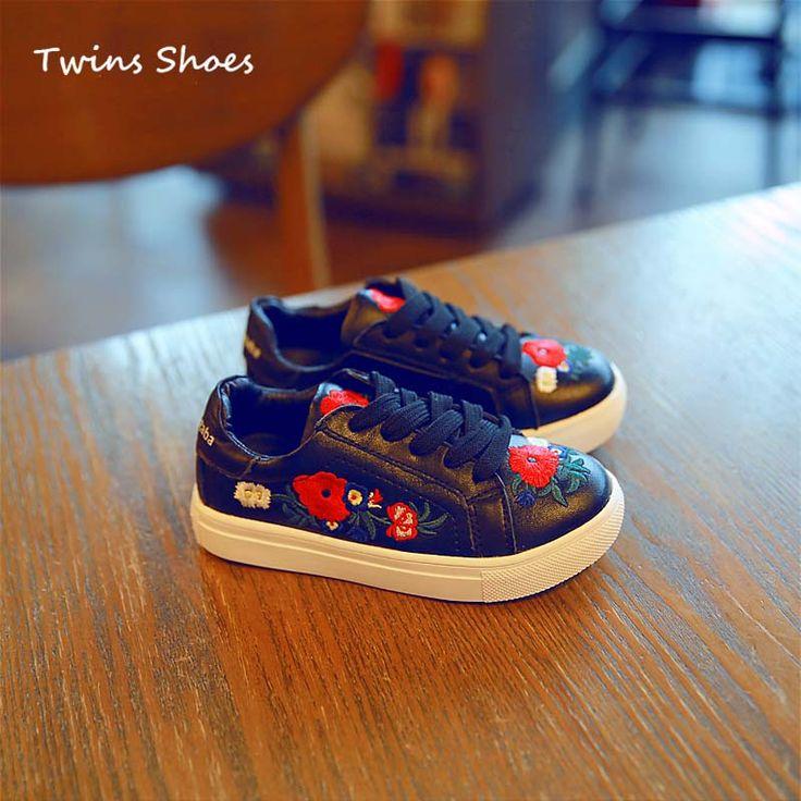 2016 осенью ребенок девушки натуральная кожа кроссовки для детей мальчиков кроссовки кроссовки дети мода спортивная обувь малышей плоские кроссовки