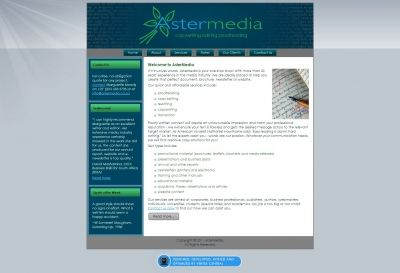 AsterMedia approached Vertex Central to design a professional, attractive, functional and informative website to represent their brand and spread awareness of their services. We then created a customized CMS website, allowing them to update their services and add testimonials on a regular basis. #CMS #Joomla #webdesign #blue #grey