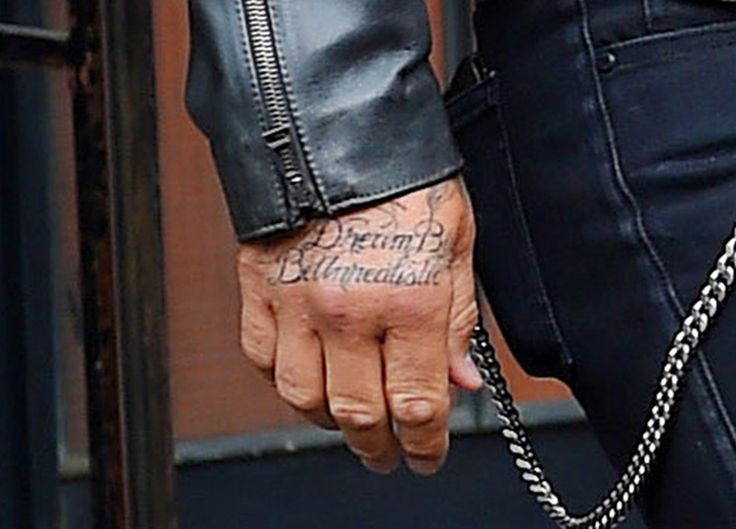 So, David Beckham Got a Jay Z Tattoo   Myspace