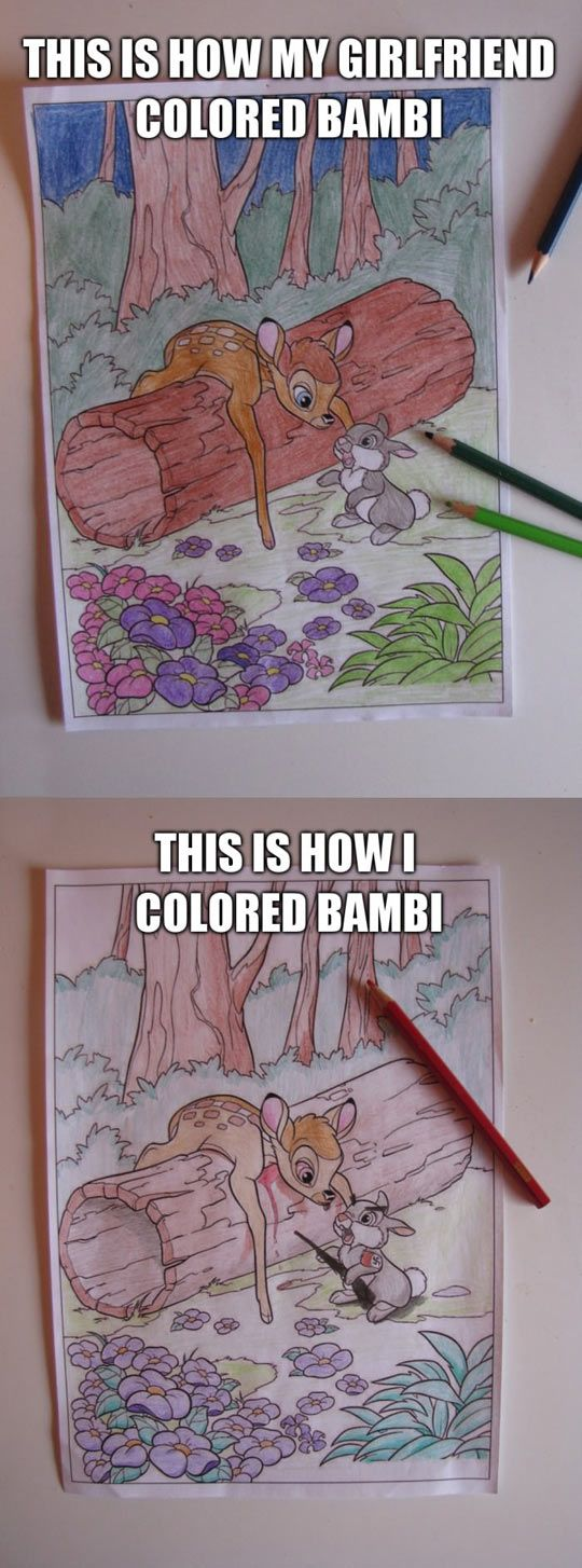 coloring pages gone bad - photo#36