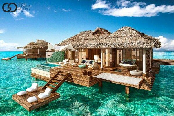 Sandals beach resort, Montego Bay, Jamaica