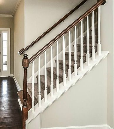 Shea Homes Design Studio   Staircase Trim Part 97