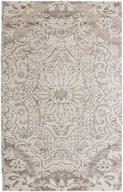 Shalimar Resist Taupe Rugs - Capel Rugs