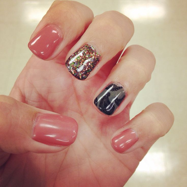Fun Fall Nail Designs: 17 Best Ideas About Fall Gel Nails On Pinterest