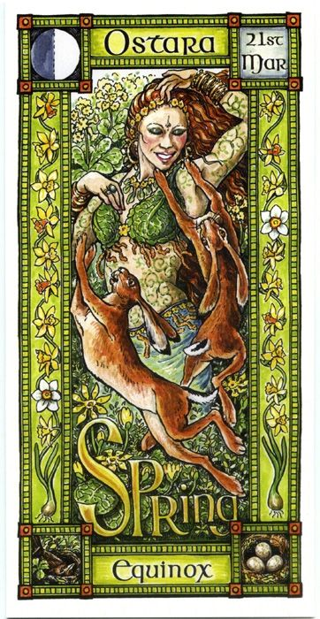 The Goddess and the Green Man | Ostara Spring Equinox | Ostara
