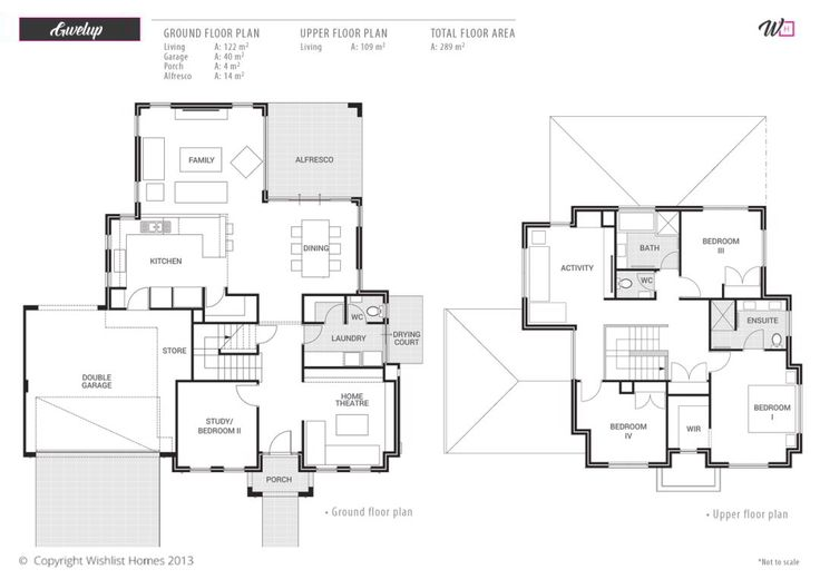 2 storey house designs and floor plans home design ideas for Case study house 8 floor plan