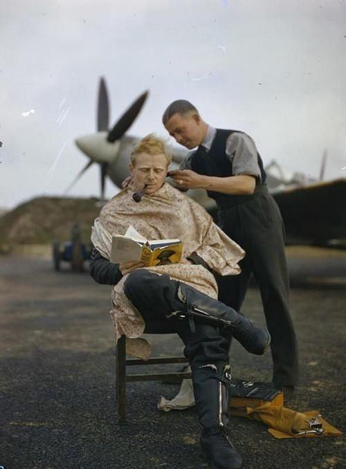 WWII #Barbershop