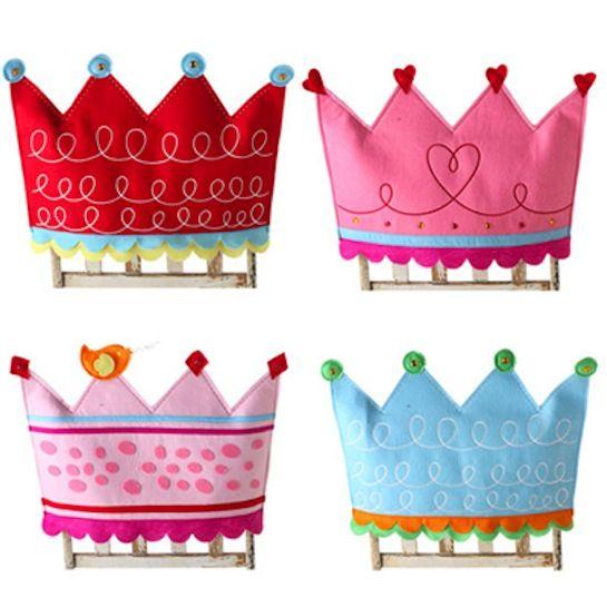 Princesas y sus coronas