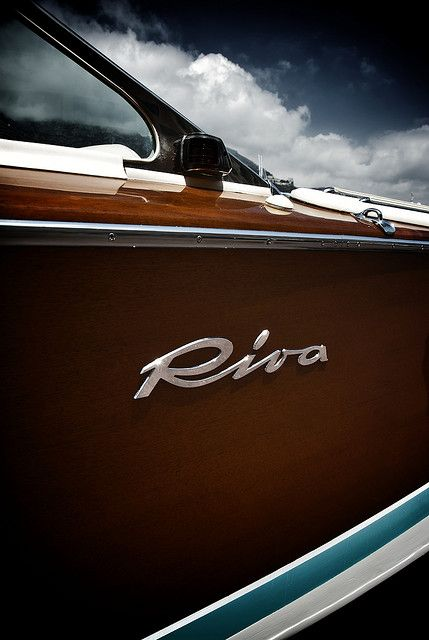 I would settle for a ride or a drive.   Riva Boats : the Riva story begins with Pietro Riva, a carpenter who in 1842 moved to Lake Como and began a family boat-building business that would involve years of innovation.