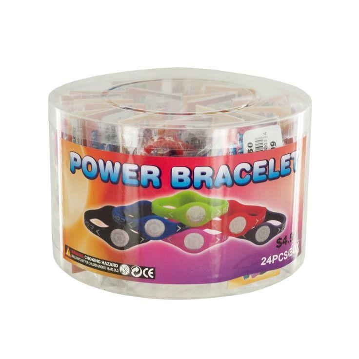Wholesale Power Bracelet Countertop Display (Case of 24)