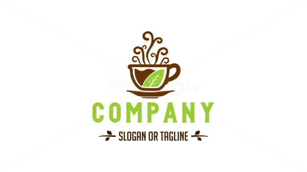 tea coffee on 99designs Logo Store
