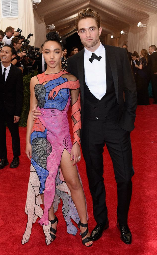 Robert Pattinson & FKA Twigs from 2015 Met Gala: Red Carpet Couples | E! Online