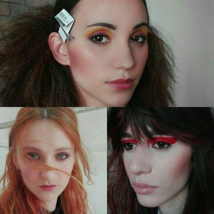 Wella event. Fashion Academy.  #springtime #springcollection #springcolours #hairstylist #makeupartist #fashionmakeup #nightgarden #cubanrebel #versacereedited
