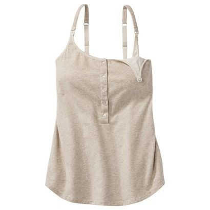 Gilligan O'Malley® Women's Henley Nursing Cami ----- to sleep and lounge around the house in