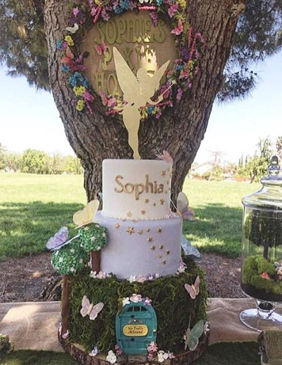 Top off your celebratory cake with our stunning and sweet Tinkerbell cake topper! Here, at The Confetti Home, we take great pride and joy in our creations, knowing that every detail is important to your special occasion, and handpicked by you! We create our toppers with excellence and high-quality materials to present you with a cake topper you are sure to love.  // KEEPSAKE CHARM //  We know that memory making is important, which is why we carefully package our wood and a...