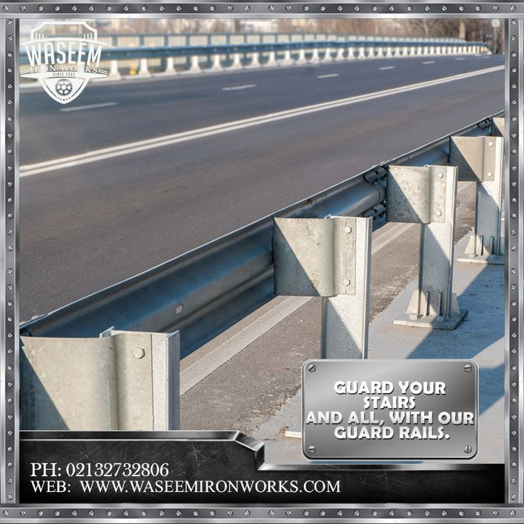 Protection is prime concern in any construction so to make is safer with compromising the looks we offer guard rails, better and stronger.  Phone: 02132732806 Mobile: 03213874707 Fax: 02132726624 Email: contact@waseemironworks.com Web: www.waseemironworks.com  #WaseemIronWoks #engeneeringServices #MsIron #MsSteel #Galvanized #Aluminium #Welding #Fabrications #DecorativeIronWork #BespokeIronWork #GatesandRailings #LogBurners #ArchitecturalFixings #IndustrialWorks