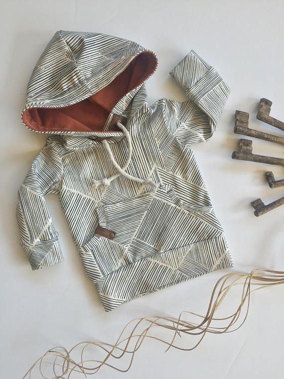 Baby hoodie toddler sweatshirt modern kids clothing gender