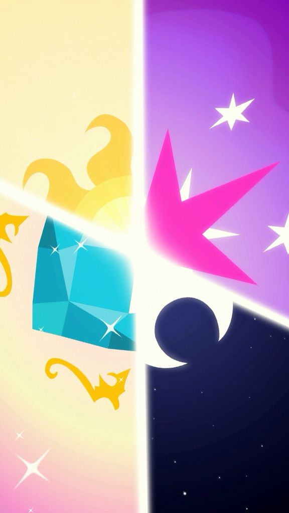 The princesses: Celestia, Twilight Sparkle, Luna, and Cadance