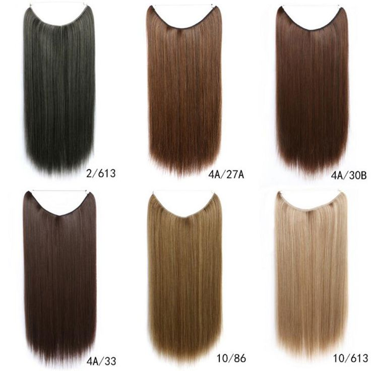 20 Inch Secret Hair Extensions No Clips Coco Syn Flip In Hair Extensions Straight 30 Colours #Flipinhairextensions #synthetichair