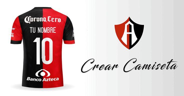 Crear Camiseta de Atlas 2017/2018 con tu Nombre
