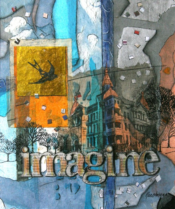 how to add lettering to mixed media