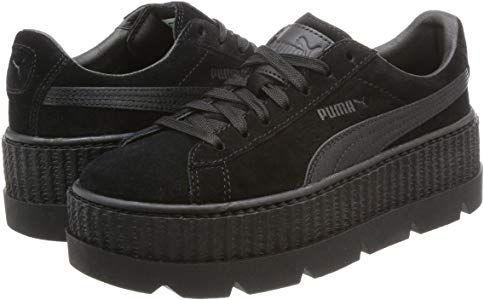 new product 71e62 ad59b Puma Fenty Cleated Creeper Black Suede - 8 UK: Amazon.co.uk ...