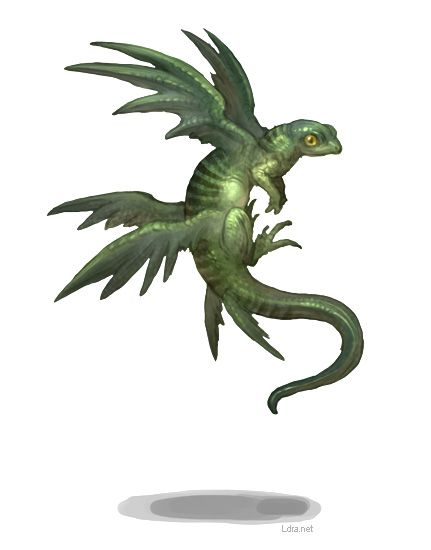 by G.River - Interesting creature... in the dragon family perhaps?