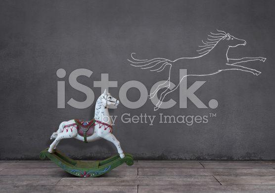 Dream of Rocking Horse (royalty-free stock photo) © mgkaya