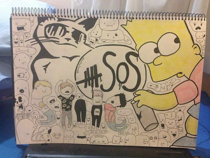 5SOS fan art | I couldn't do that fan art | Pinterest ...