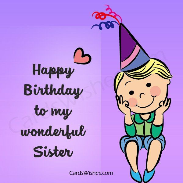 Birthday Wishes For Sister From Brother For Sister Quotes