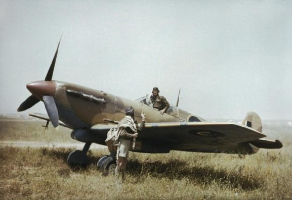 SOUTH AFRICAN AIR FORCE  TUNISIA, APRIL 1943