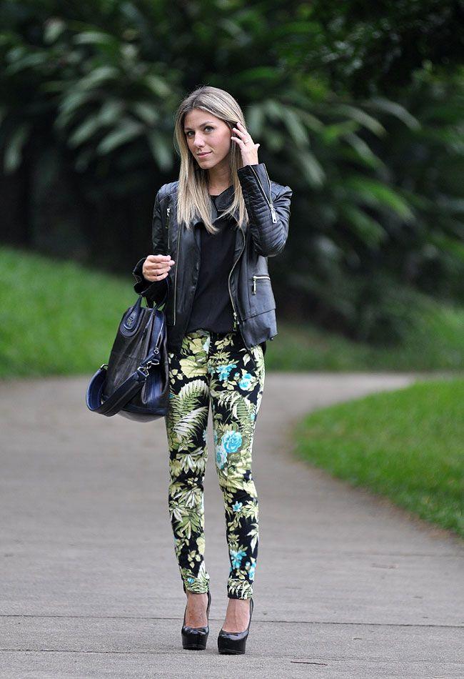 glam4you - nati vozza - look - calça estampada - printed pants - floral -