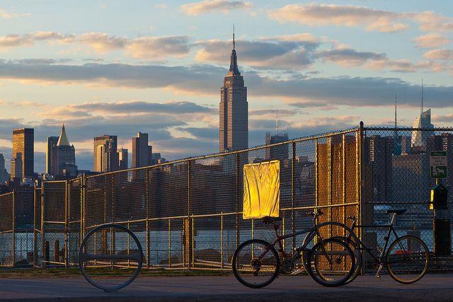 Manhattan, shot from Brooklyn, April 2013 (by Freek Nijenhuis)