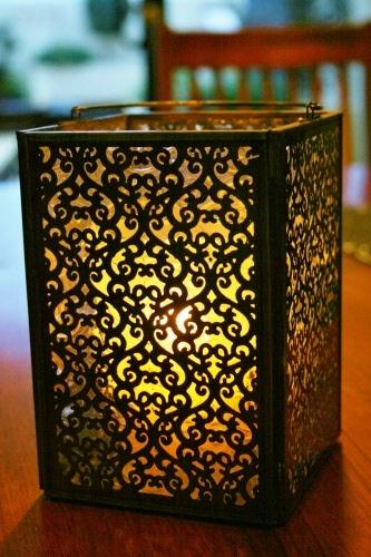 india box lantern