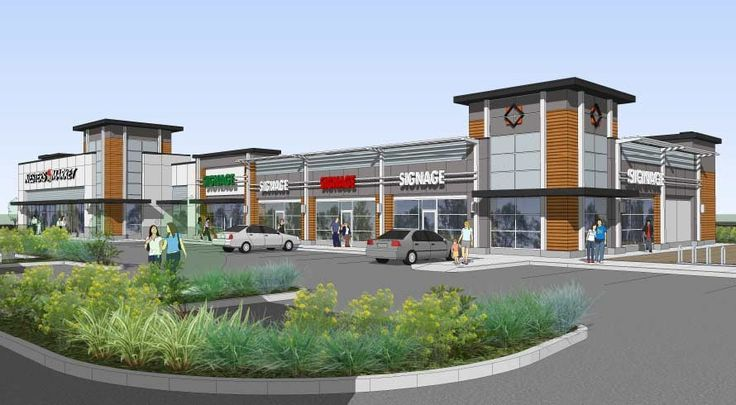 Airport Village Elevations | Retail Space for Lease Kelowna