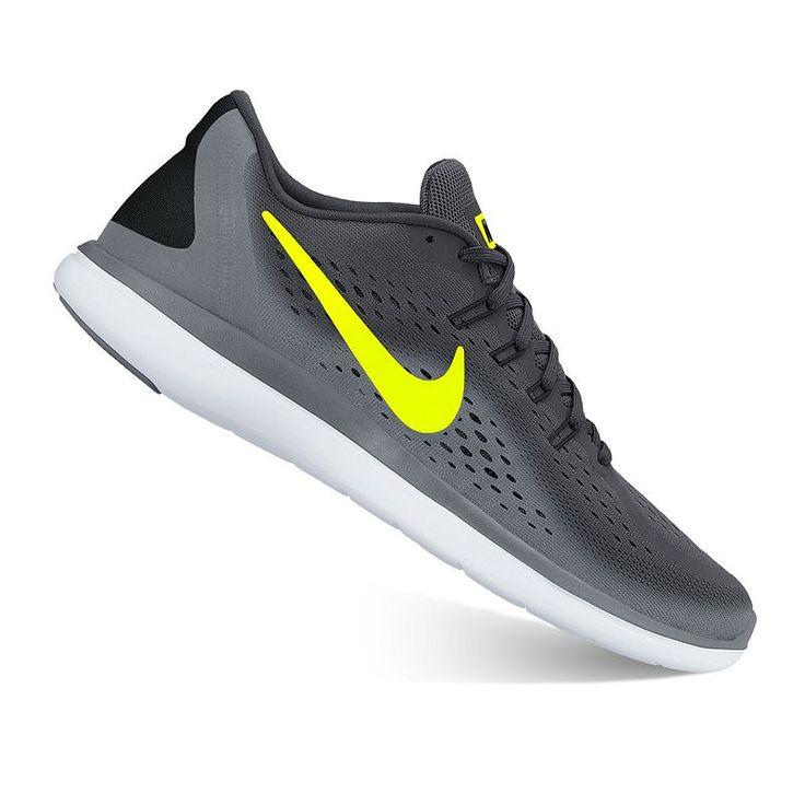 Nike Flex 2017 RN Men's Running Shoes, Size: 7.5, Oxford