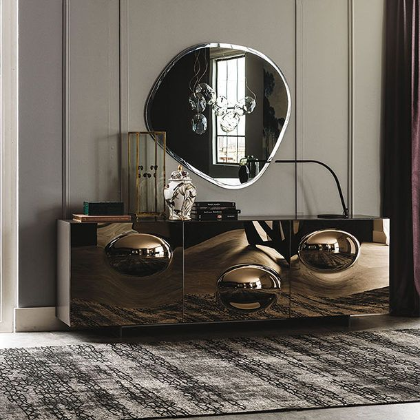 What S New This Season In Terms Of Italian Furniture Trends We Take A Peek At All On Offer From Mald Contemporary Sideboard Cattelan Italia Mirrored Sideboard