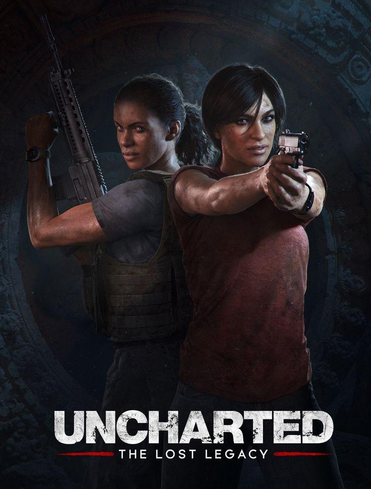 ArtStation - Uncharted: The Lost Legacy, Marek Okon