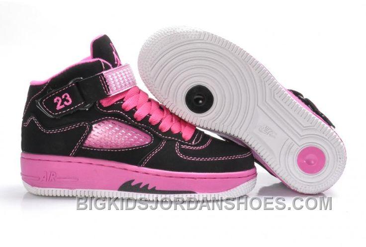 http://www.bigkidsjordanshoes.com/new-kids-af1jordan-5-pink-black.html NEW KIDS AF1+JORDAN 5 PINK BLACK Only $75.01 , Free Shipping!
