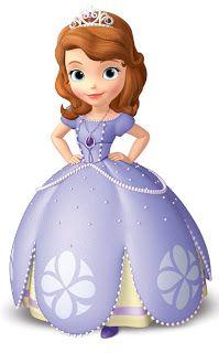 dibujo de princesa sofia de disney para imprimir