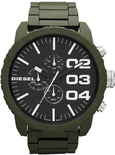 Diesel Men's DZ4251 Advanced Green Watch « Impulse Clothes